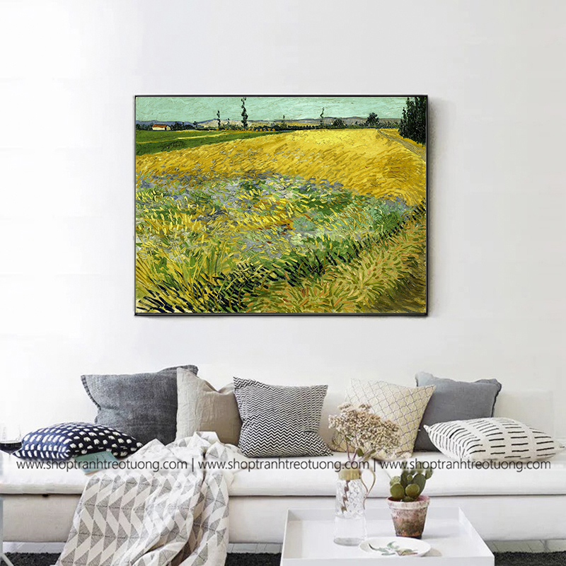 Tranh decor: Wheat Field (Van Gogh)