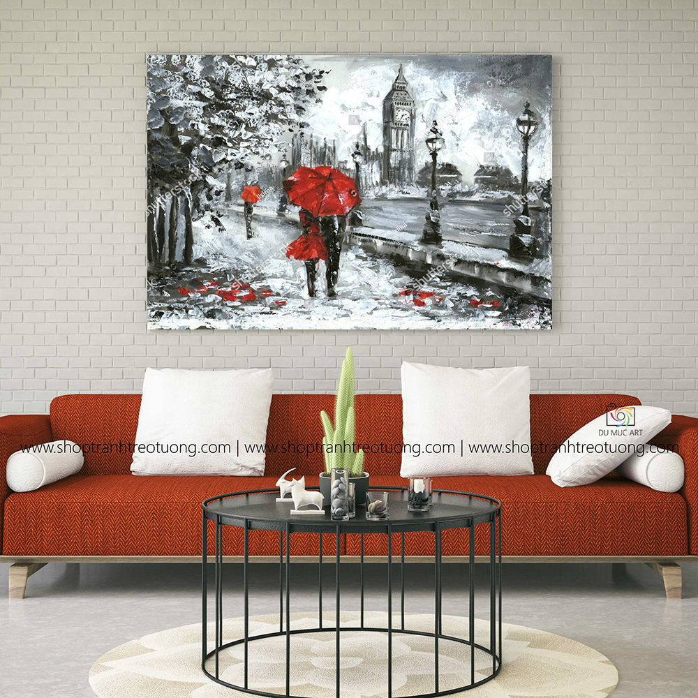 Tranh decor: Red love