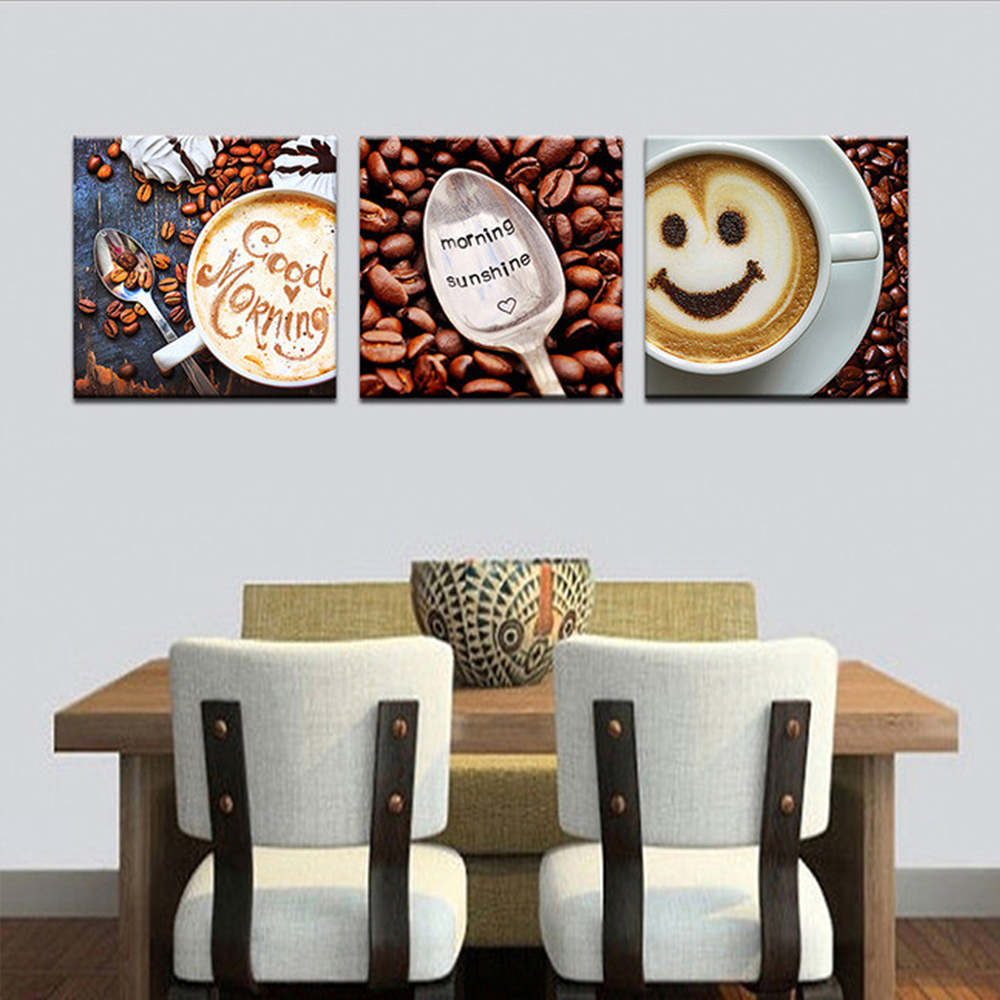 Tranh decor: Smile cafe