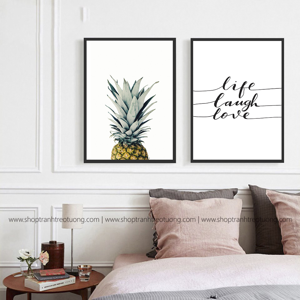 Tranh decor: Pineapple